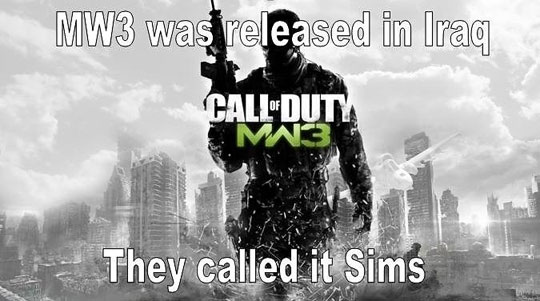 mw3 was released in iraq