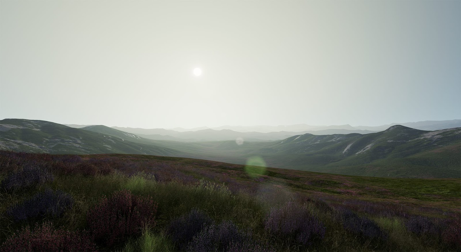 Unreal Engine Photorealistic Landscape Pack 4   Computer Graphics