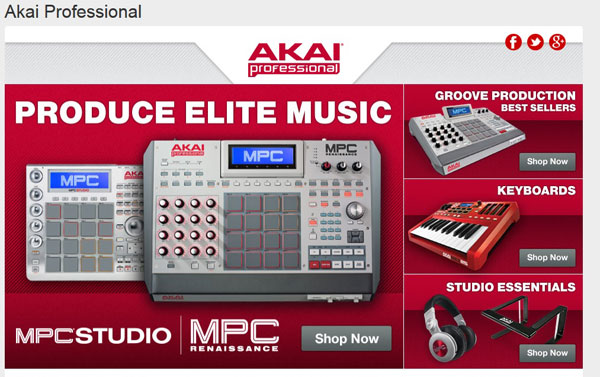 Elinluv's Sweet Delights: Akai Professional