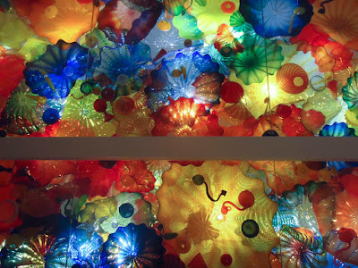 A truly beautiful glass ceiling by Chihuly