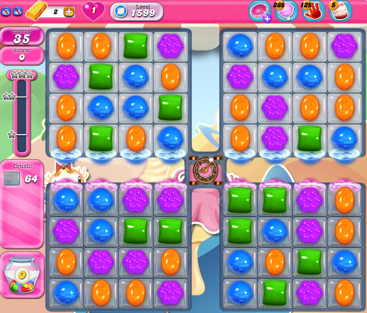 Candy Crush Saga 1599