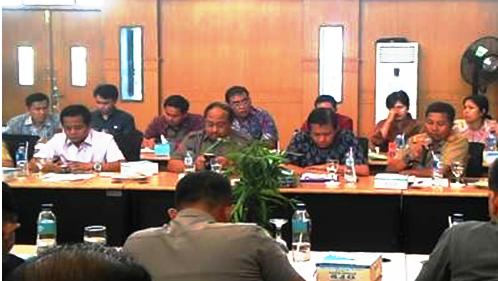 Status Lahan Bersengketa, Biro Hukum Kemendagri Datang Evaluasi IPDN Rohil
