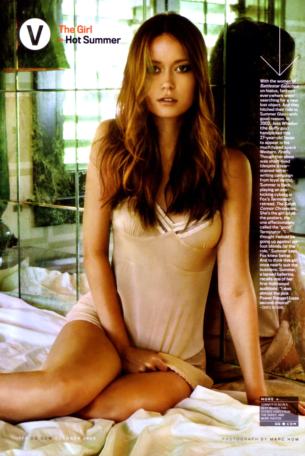 Celebrity HQ Wallpapers: Summer Glau Celebrity Wallpapers.