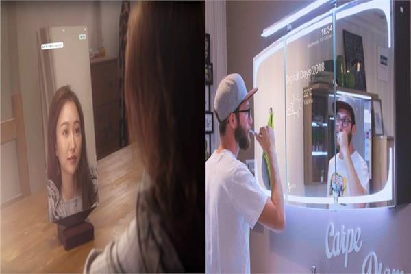 مرآة ذكية قادمة في 2019 تخبرك بمدى جمالك وتعلمك كيف تجعل وجهك يسترخي !