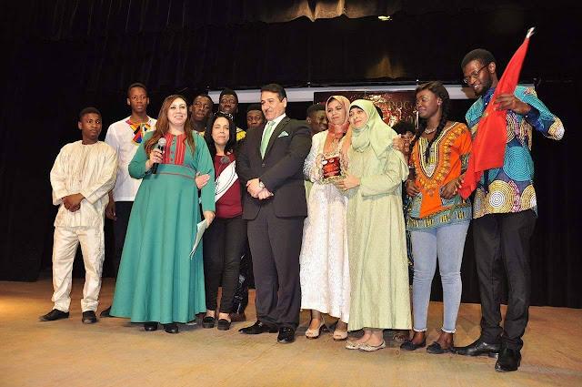 """Grandeur Retour du Royaume du Maroc à l'Union Africaine Sous le thème """"Fêtons tous ensemble notre RETOUR CHEZ SOI"""""""