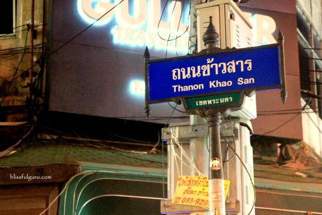 Khao San Patpong Road Bangkok Thailand Blog