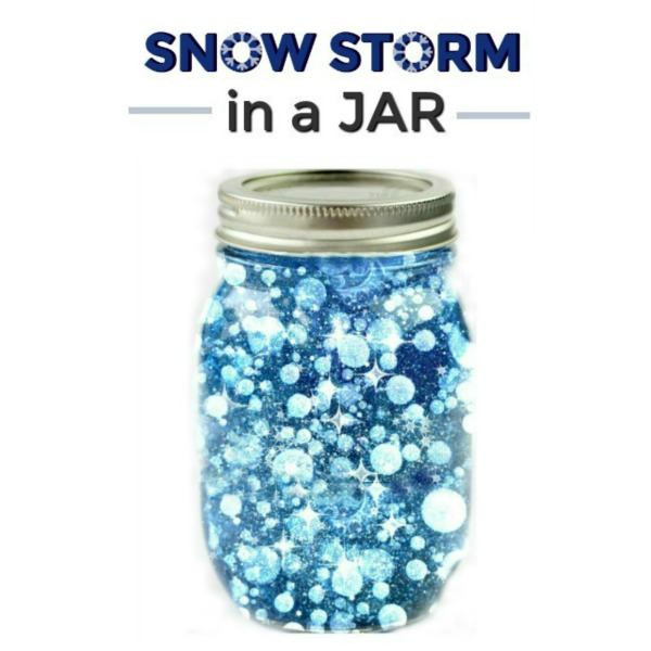 MAKE A SNOW STORM IN A JAR #scienceexperimentskids #scienceforkids #snowstorminajar #snowstorm #preschoolscienceactivities