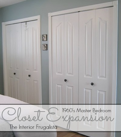 Turn Narrow Niche Into Second Master Bedroom Closet