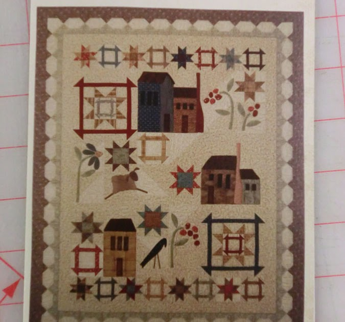 Quilt Whimsy Whimsicals Quot Village Square Quot Quilt Pattern