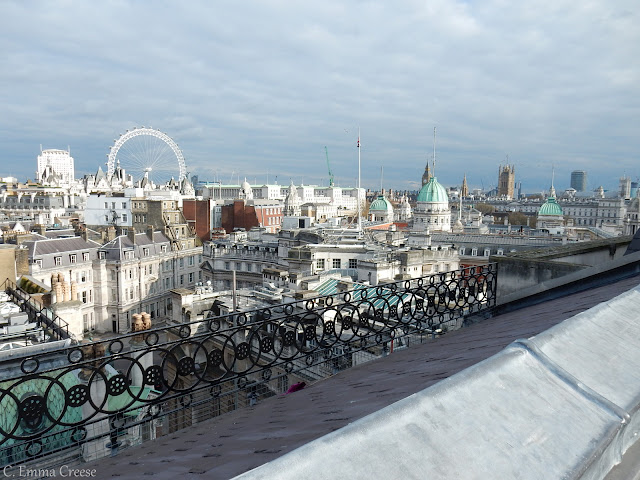 Trafalgar Hotel's Vista Bar Adventures of a London Kiwi
