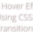 20 Cool Hover effects Using CSS3 Transition         ~          Web Speaks