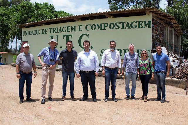 Comitiva da Alemanha visita município de Sairé