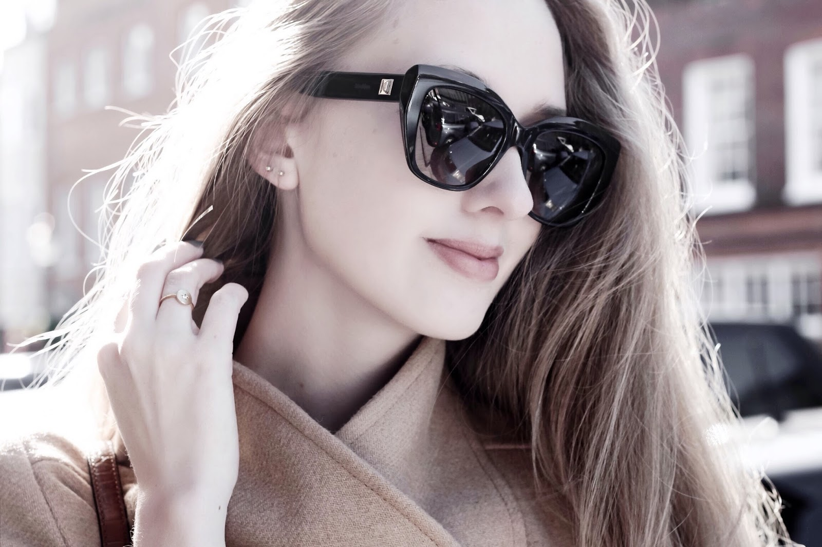 Max Mara MM Prism Black and Tortoise Sunglasses