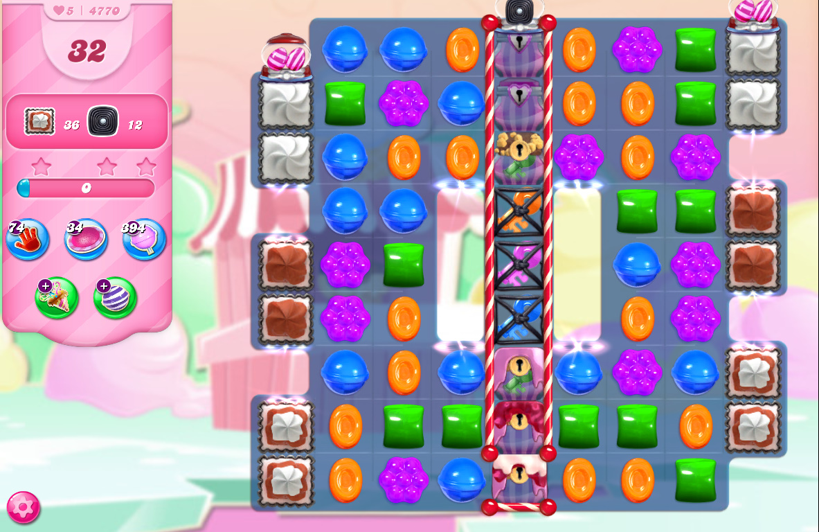 Candy Crush Saga level 4770