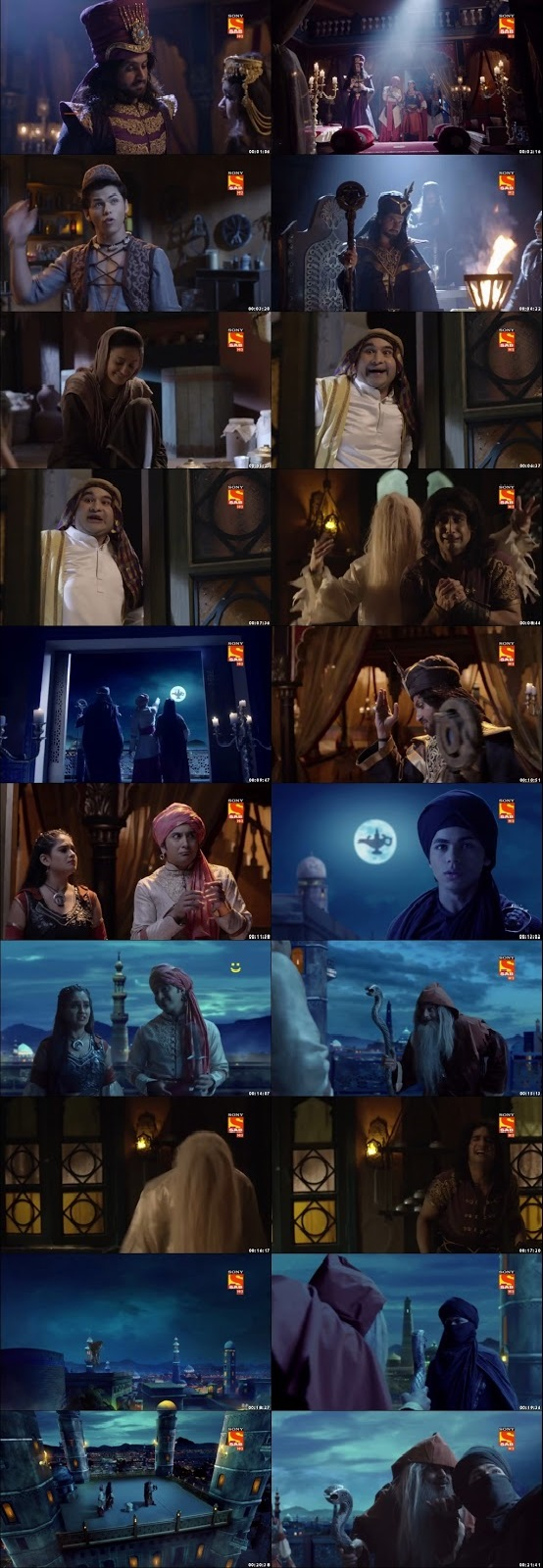 Screenshots Of Hindi Show Aladdin – Naam Toh Suna Hoga 2018 Episode 25 300MB 720P HD