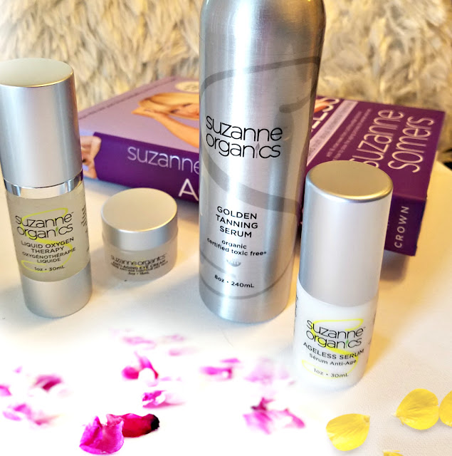 Suzanne Organics anti-aging Arsenal trio review by barbies beauty bits and beauty after forty