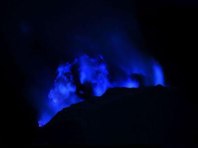 Blue Sulfur Flame