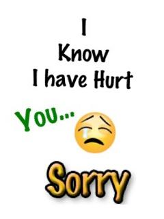 sorry my dear