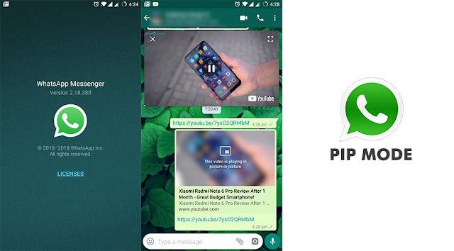 Whatsapp Resim icinde Resim Ozelligi