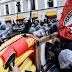 Συγκρούσεις αστυνομικών με διαδηλωτές στο Μιλάνο - ΒΙΝΤΕΟ