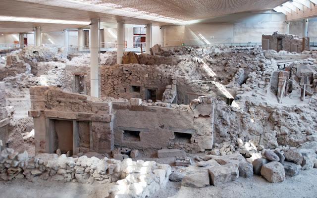 Sítio Arqueológico de Akrotiri, Santorini