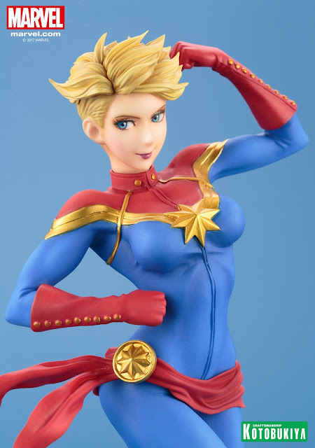 Captain Marvel Bishoujo Statue - Kotobukiya