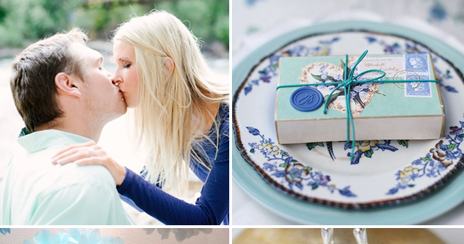 Party Palette | Shades of Blue + Mint!