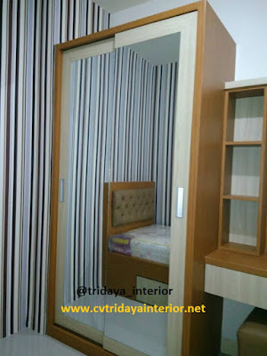 design-interior-apartemen-green-pramuka-city-2-bedroom