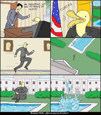 Duck President - Benjamin Vilella ¿Qué me pasa en El Cerebro? +english