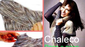 Chaleco tejido con agujas... super calentito! / PAP