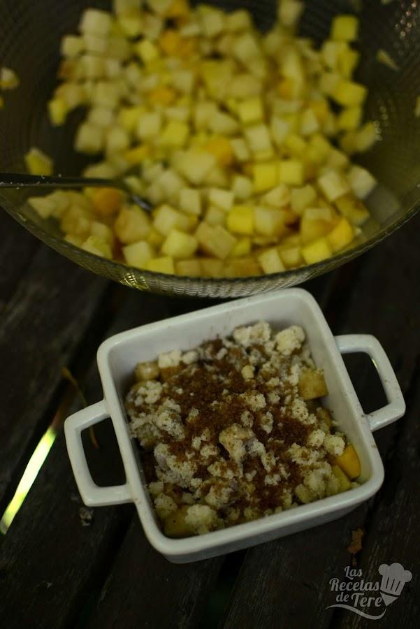 Crumble de manzana y mago tererecetas 02