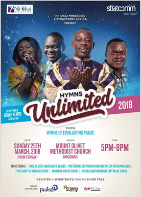 "2018 ""Hymns Unlimited"" Slated For March 25"