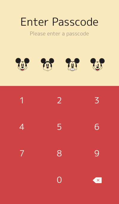 ミッキーマウス(ヴィンテージスタイル)