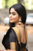 Poorna in Cute Backless Choli Saree Stunning Beauty at Avantika Movie platinum Disc Function ~  Exclusive 032.JPG