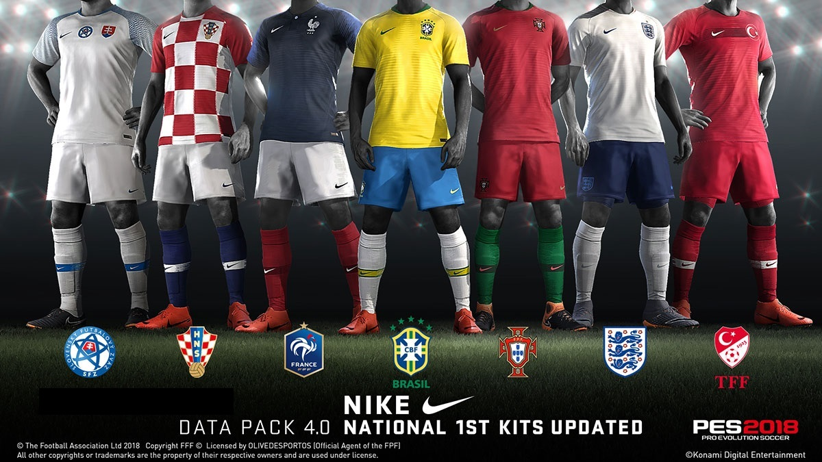 Data Pack 4 01 | Final | PES2018 PC | Fixed Version Released