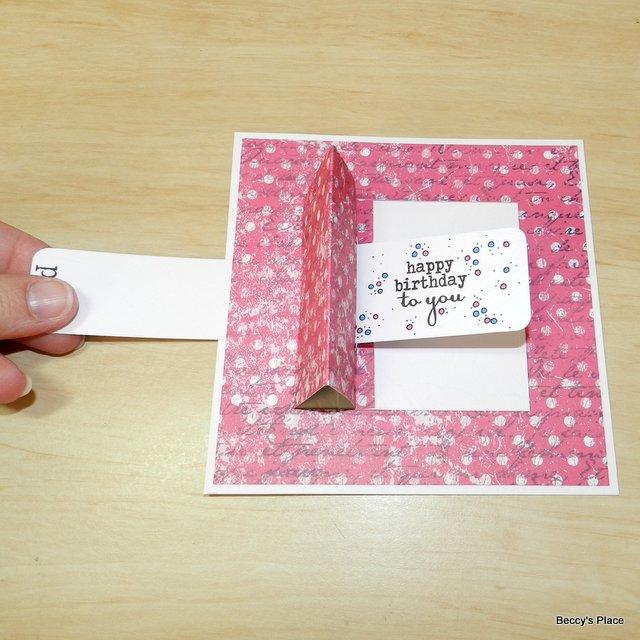 Как сделать трансформер открытку сестре