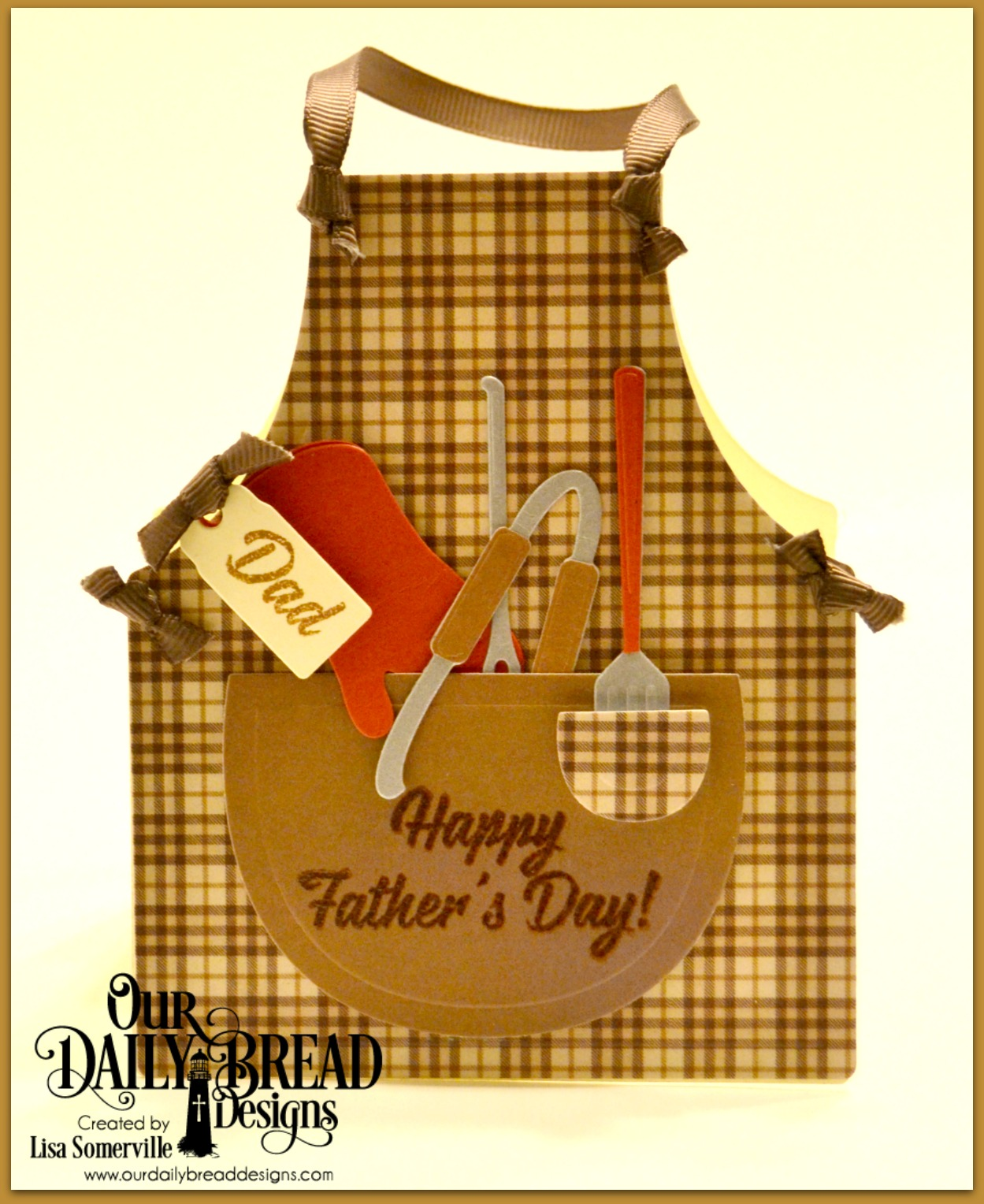 Lisa S Tool Time Father S Day Card: Designs By Lisa Somerville: Father's Day BBQ Apron
