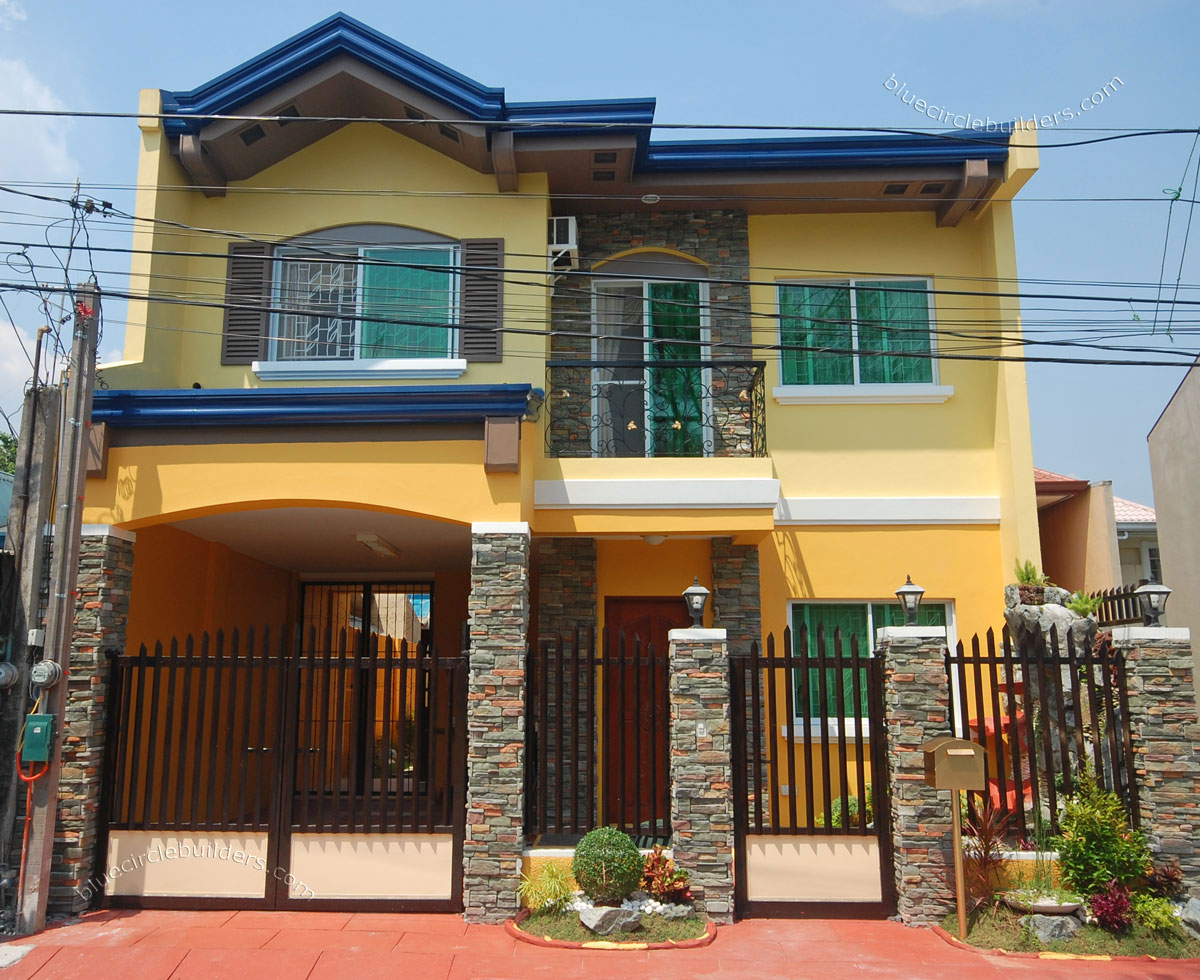 35 HOUSE PHOTOS WITH STONE CLAD DESIGN Bahay OFW - THOUGHTSKOTO