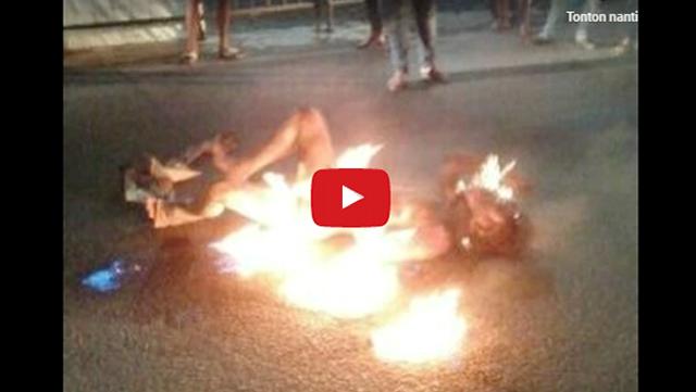 [VIDEO] Innalillahi, Hendak Shalat, Tukang Servis Televisi di Bekasi Malah Dibakar Hidup-hidup