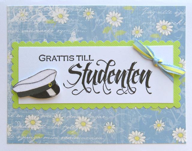 studentkort grattis Gummiapan : Studenttider studentkort grattis