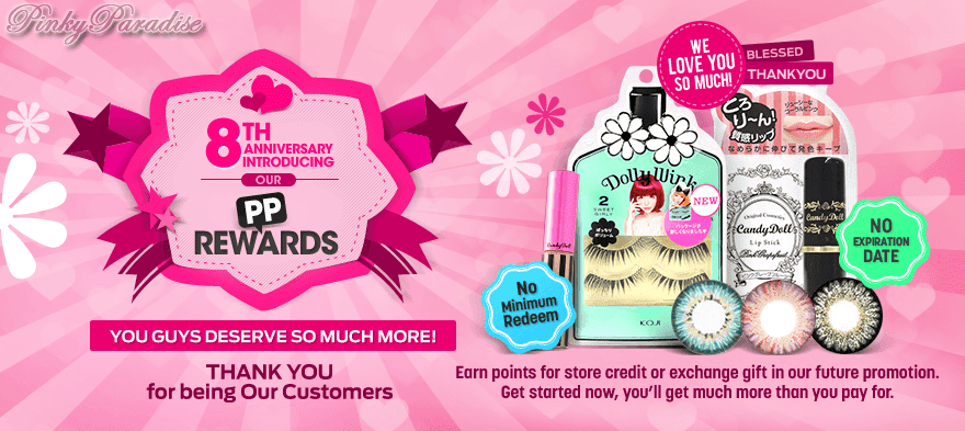 PinkyParadise Loyalty Reward Program