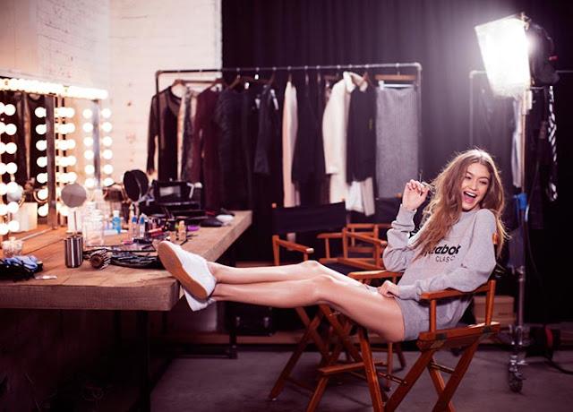 Gigi Hadid - Reebok Spring 2017 Campaign