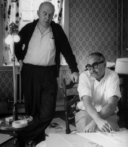 Otto Preminger and Saul Bass