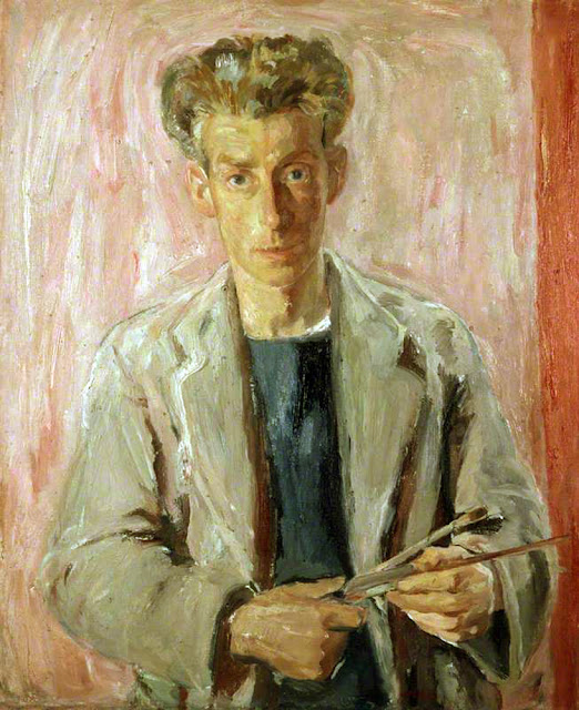 William George Gillies, Self Portrait, Portraits of Painters, Fine arts, George Gillies