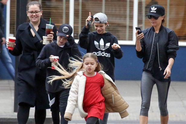 Dailymattaz: David Beckham family on a street tour,a week ...