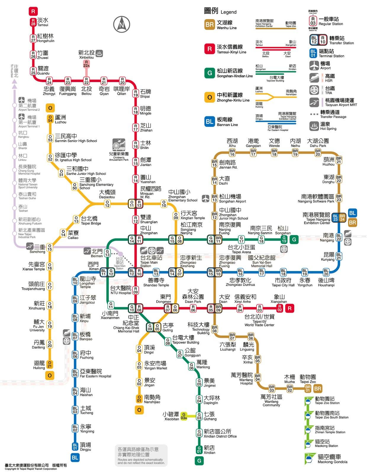黃民彰的網站--Taiwan Taipei: 捷運大橋頭站