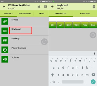 Cara Menjadikan Android Sebagai Keyboard PC