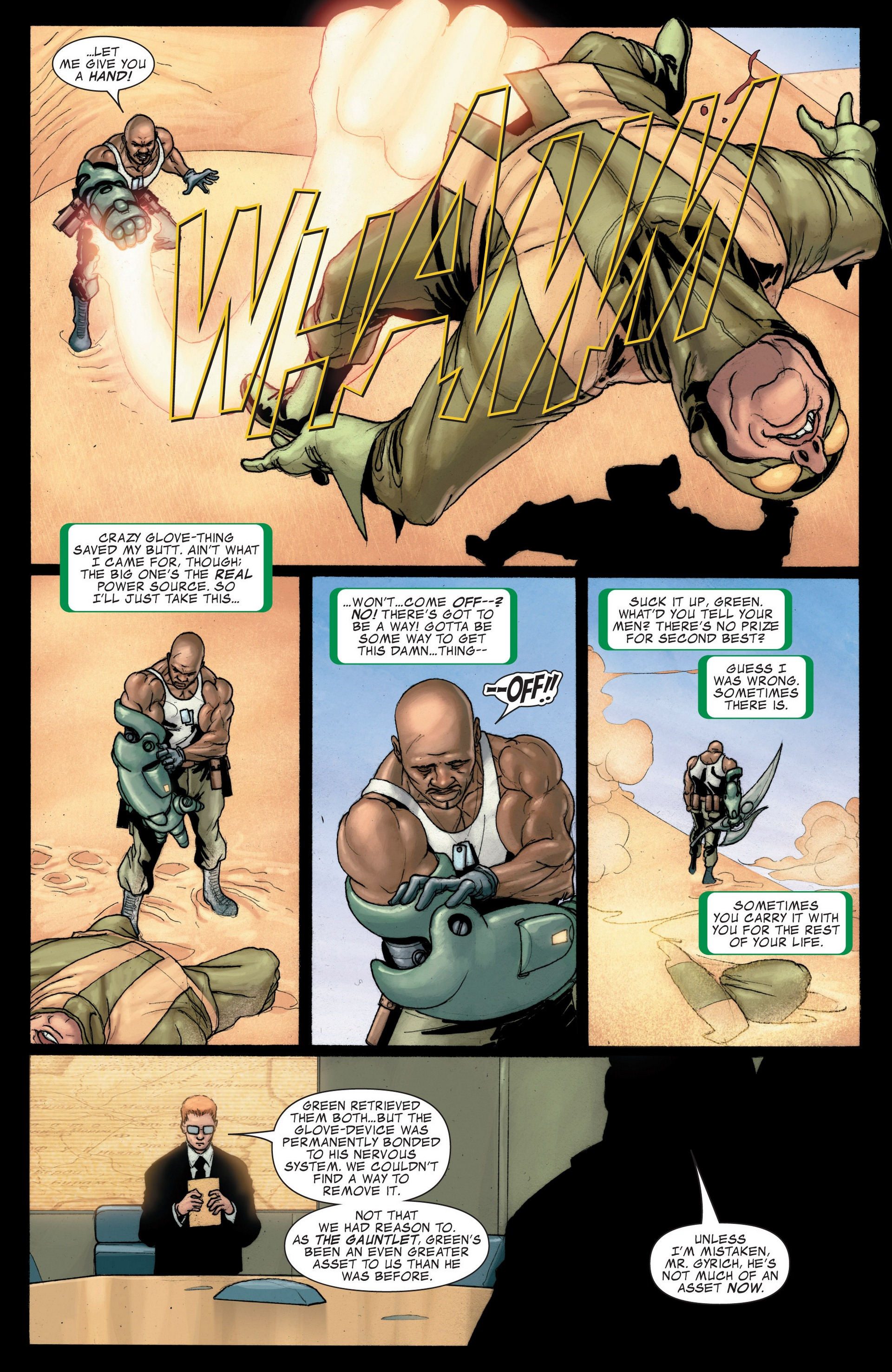Read online Secret Invasion: The Infiltration comic -  Issue #4 - 8