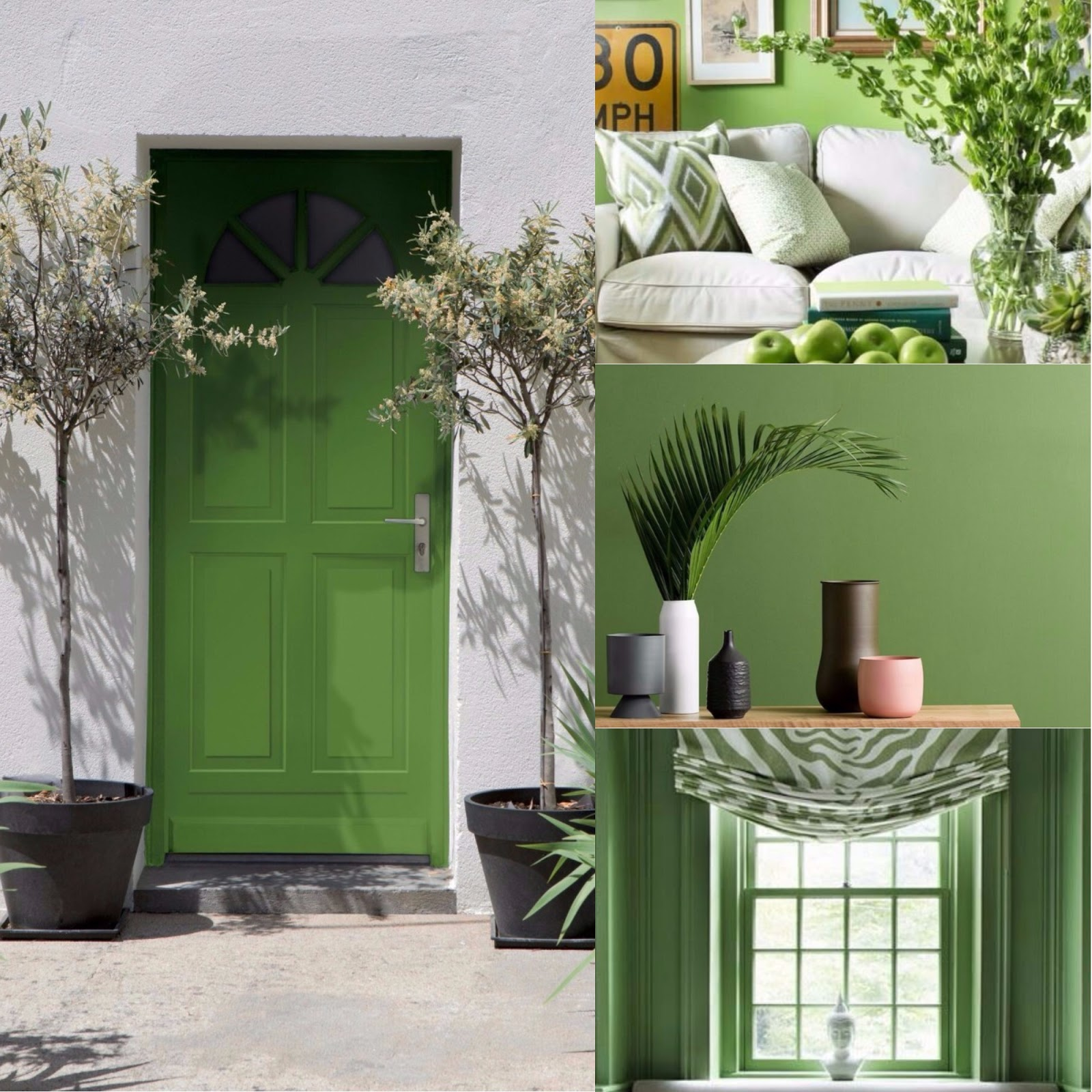 A Ravioli: Casas Pantone 2017 - Viva o Greenery!