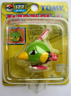 Natu figure Tomy Monster Collection yellow package series